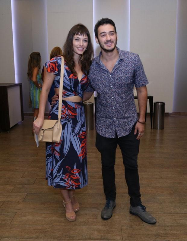 Rosanne Mulholland e Marcos Veras (Foto: Roberto Filho / Brazil News)