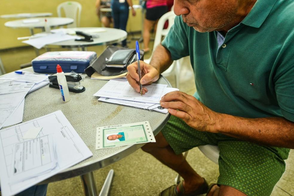 Itep amplia horário de atendimento para atender demanda às vésperas das eleições; confira locais — Foto: Divulgação/Sejusc