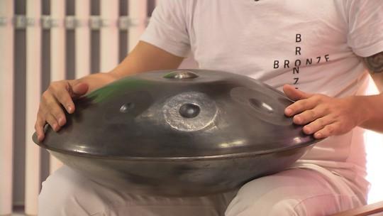 Conheça o hang drum, instrumento percussivo e melódico