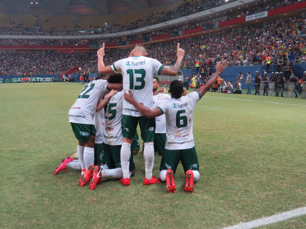 Manaus venceu o Jacuipense-BA por 1 a 0 neste sábado — Foto: Antônio Assis/FAF
