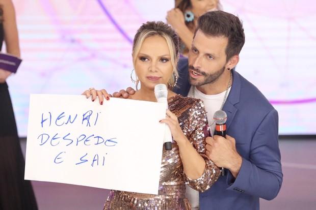 Eliana e Henri Castelli (Foto: Manuela Scarpa/Brazil News)
