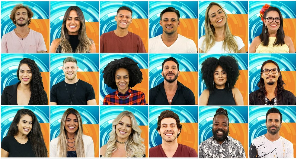 Conheça os participantes do BBB19 — Foto: TV Globo