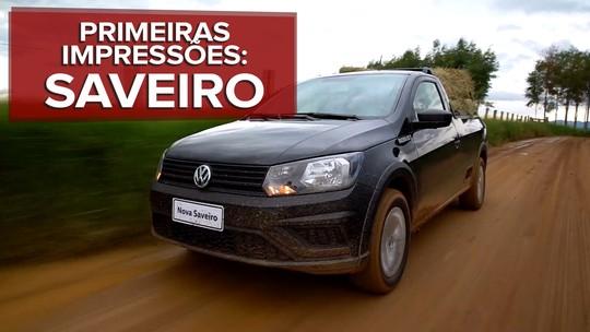 Volkswagen Saveiro 2017: primeiras impressões