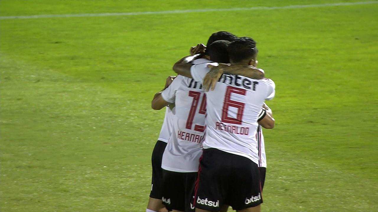 Ferroviária 1 x 2 São Paulo: Hernanes marcou o terceiro gol da temporada, na Fonte Luminosa