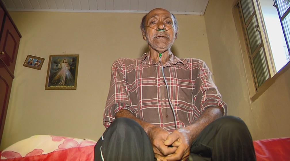 Benedito conviveu com a doença por 60 anos sem ser diagnosticado — Foto: Reprodução/EPTV