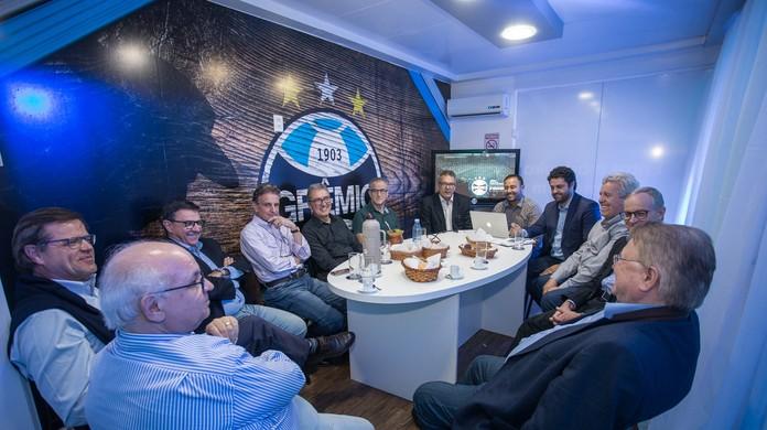 Finanças no azul  Grêmio lucra 5a6a67b313dc4