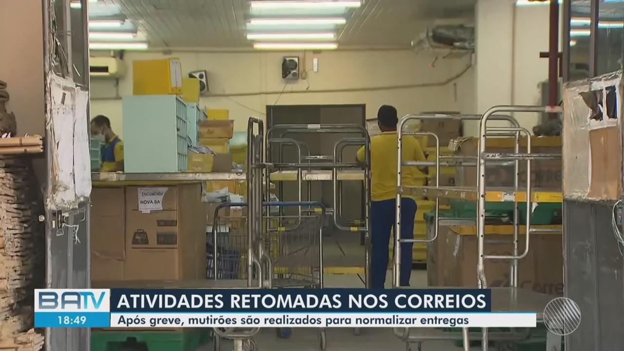 Destaques: após greve, Correios retomam atividades nesta quarta-feira