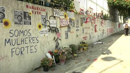 Local onde Marielle e Anderson foram mortos vira ponto de homenagens
