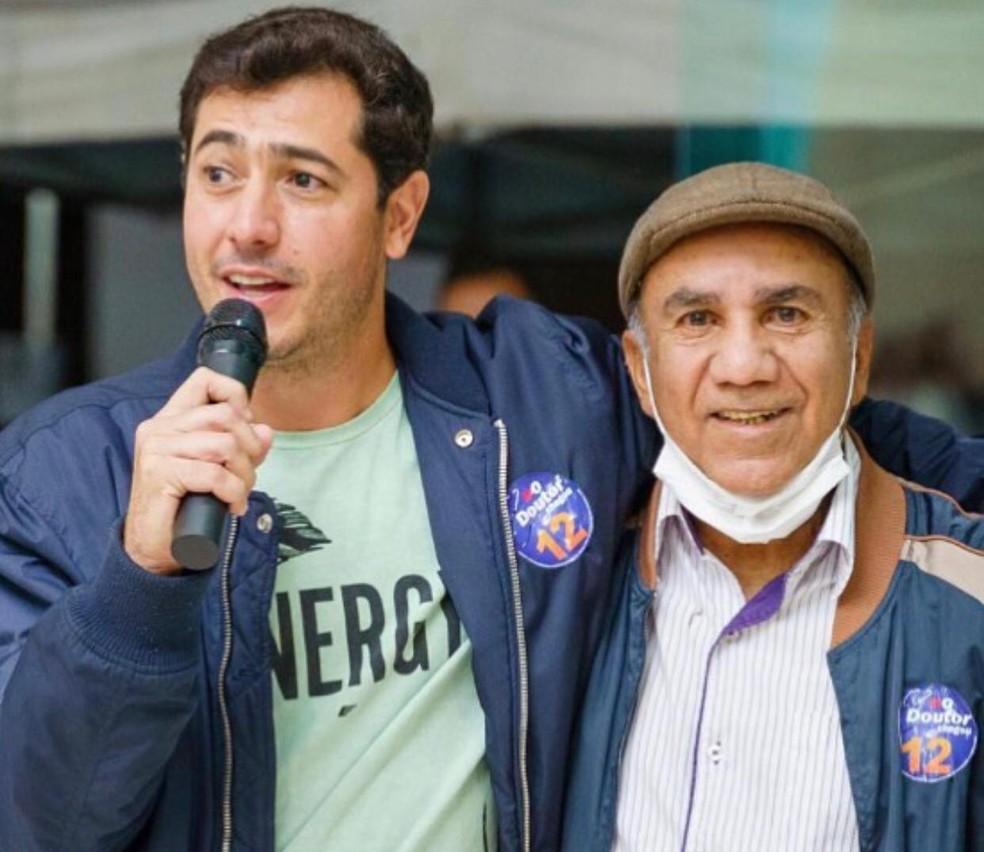 Rafael Peixoto (à esquerda) e Dr Maurélio  — Foto: Instagram/Reprodução
