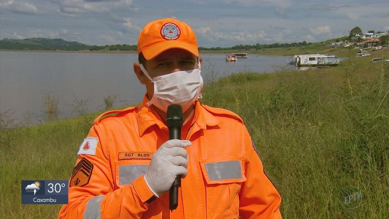 Mulher morre e homem fica ferido em acidente no Lago de Furnas