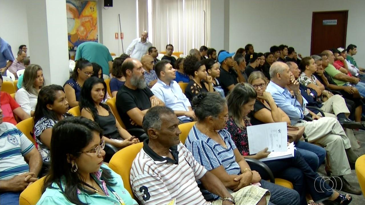 Moradores de Palmas se reúnem em audiência pública para propor alterações no Plano Diretor