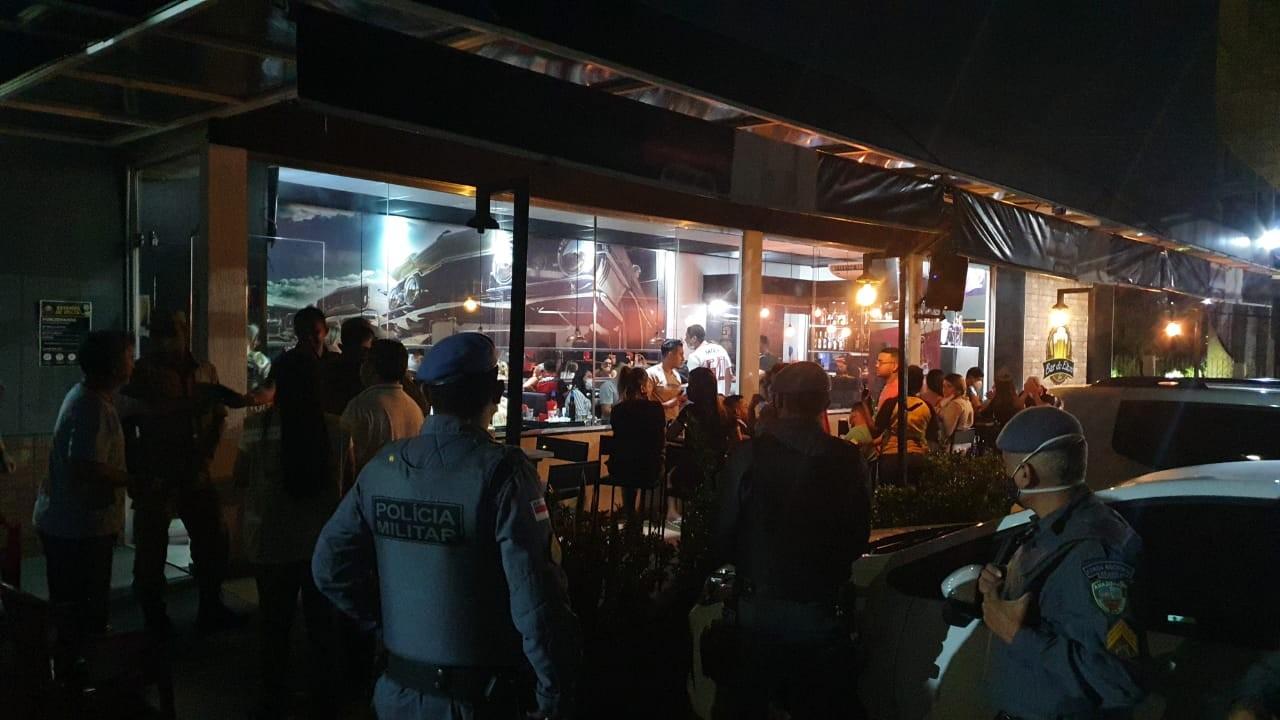 Festas clandestinas e mais de 20 estabelecimentos são fechados durante fim de semana em Manaus