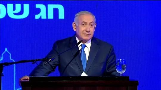 Bolsonaro encontra Netanyahu na sexta-feira; embaixada confirma primeiro-ministro na posse