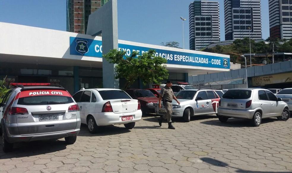 Suspeito de crimes em cidades do interior de Pernambuco e Alagoas foi preso em Maceió â?? Foto: Suely Melo/G1