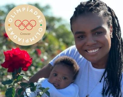 """A bicampeã olímpica de vôlei Fabiana Claudino dispara: """"A vida de atleta me ajuda a ser mãe"""""""