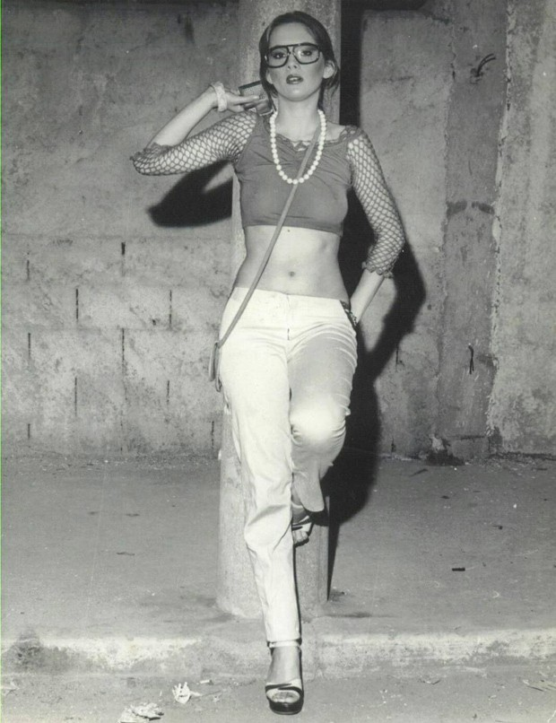 Nicole Puzzi no filme As Damas do Prazer (1977) (Foto: Reprodução Instagram)