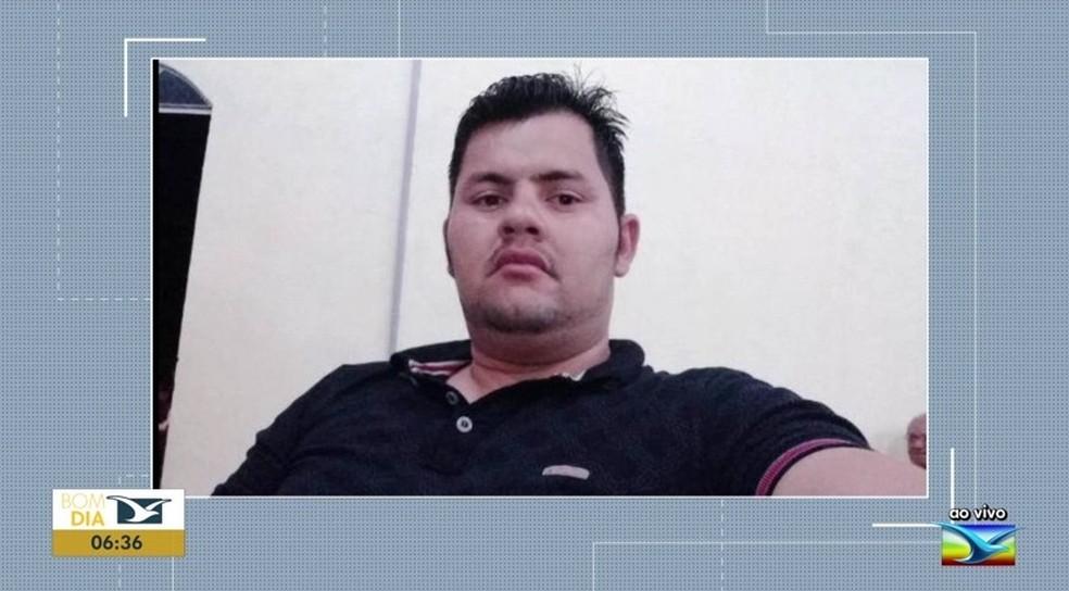Rubem Lima, de 33 anos, morreu afogado durante tentativa de prestar socorro.  — Foto: Reprodução/ TV Mirante