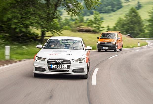 Audi A6 teve consumo médio de 32 km/l (Foto: Divulgação)