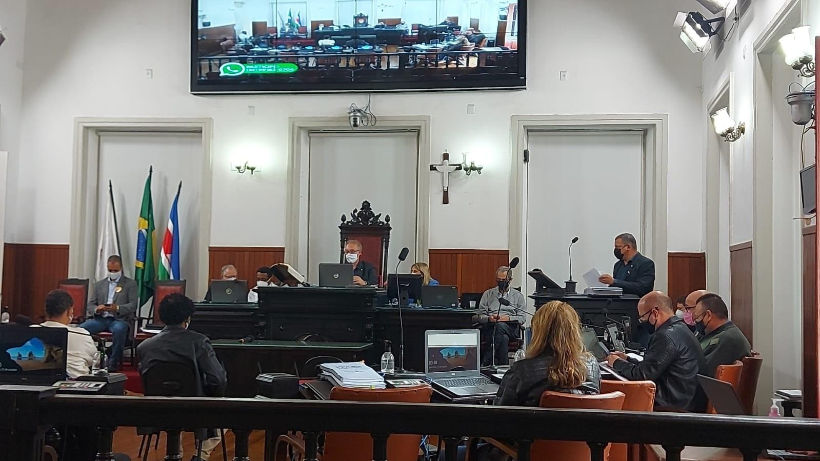 Vereadores apresentam parecer em primeira audiência pública sobre orçamento em Juiz de Fora