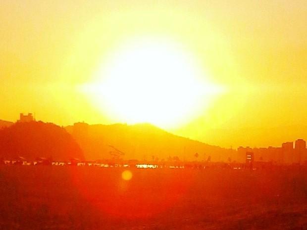 Baixada Santista deve enfrentar onda de calor de 38ºC seguida de queda brusca de temperatura