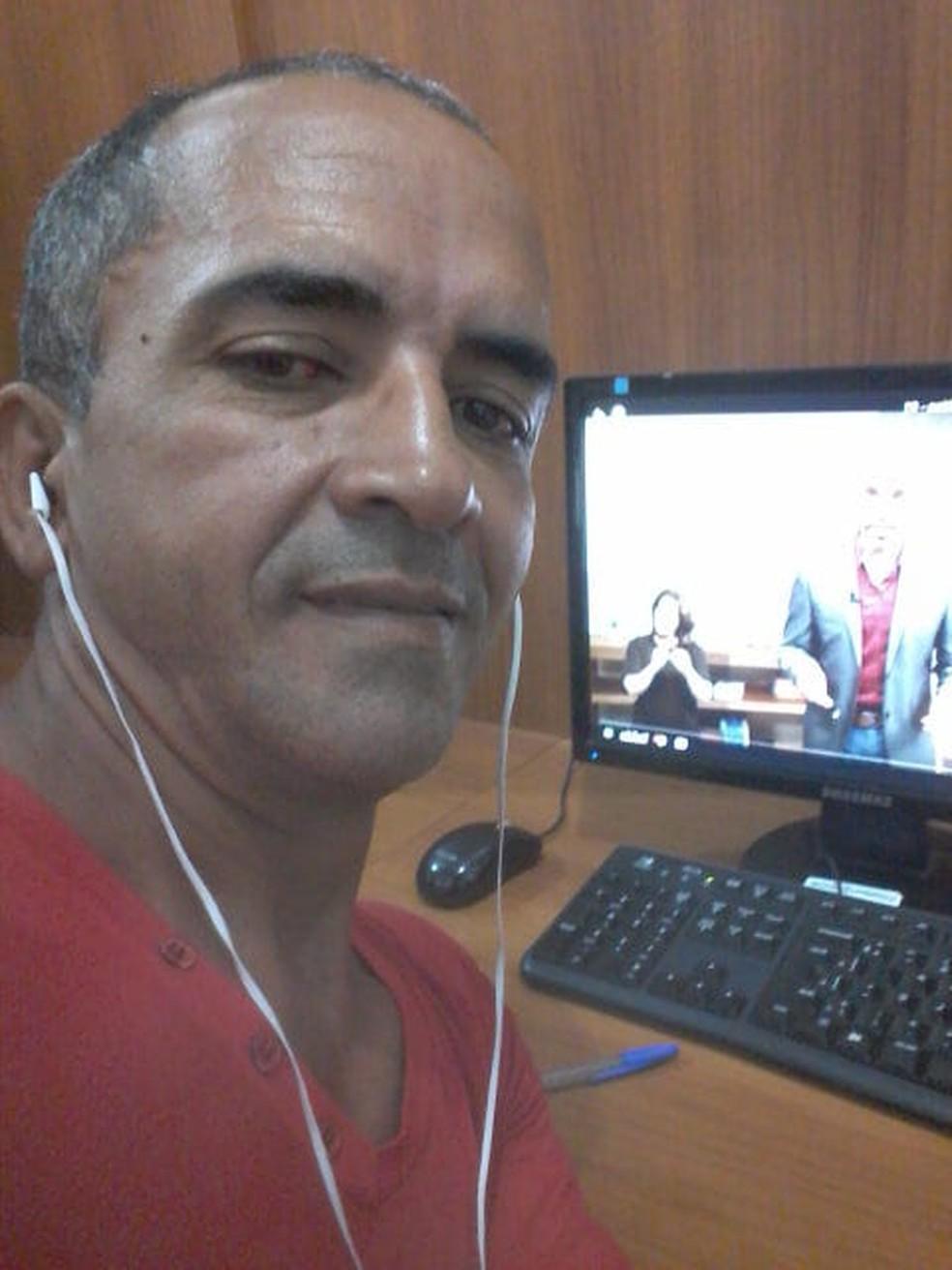 Olímpio Jesualdo Brito, de 54 anos, está desaparecido — Foto: Cleonice Santana da Silva/ Arquivo pessoal