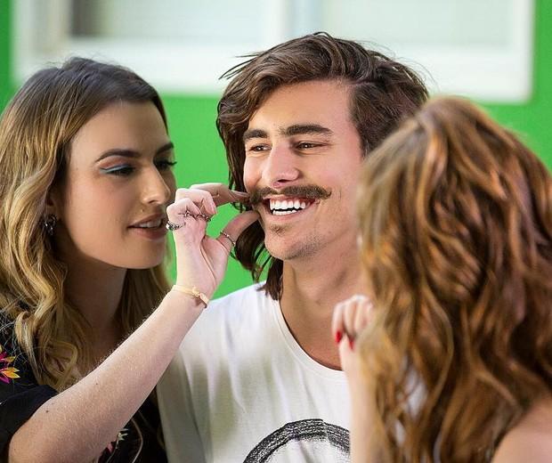 Fernanda Keulla e Bruno Montaleone  (Foto: Reprodução/Instagram)