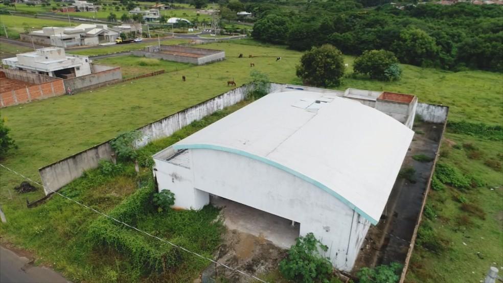 Unidade Básica de Saúde ainda não foi inaugurada em Mirassol  — Foto: Reprodução/TV TEM