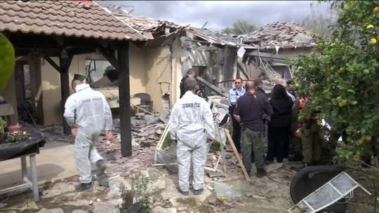 Ataque com foguete fere sete em Israel