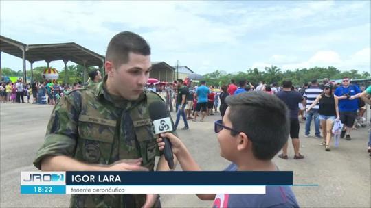 'Portões Abertos' atraem centenas de pessoas à Base Aérea de Porto Velho