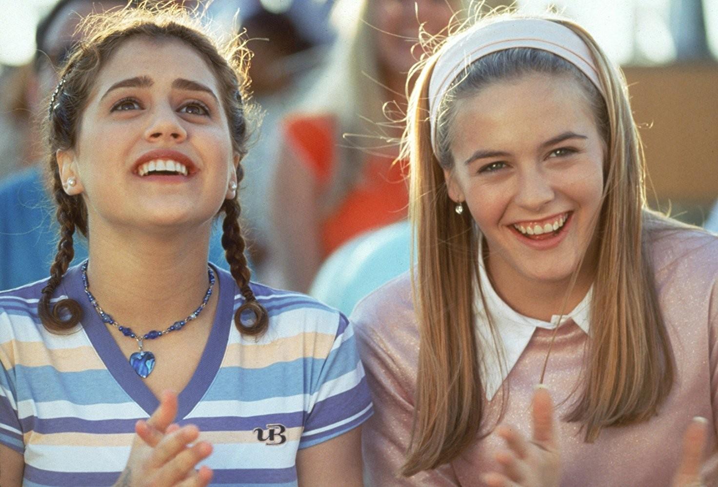 Alicia Silverstone e Brittany Murphy em  As Patricinhas de Beverly Hills (1995)  (Foto: Divulgação)