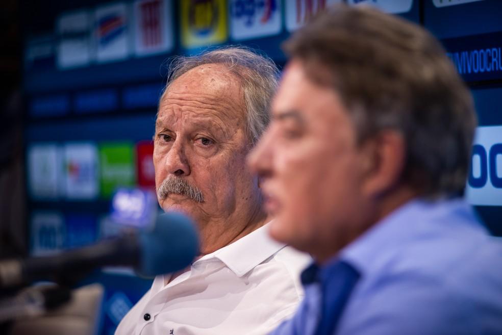 Wagner Pires de Sá demitiu Zezé Perrella do comando do futebol do Cruzeiro — Foto: Bruno Haddad