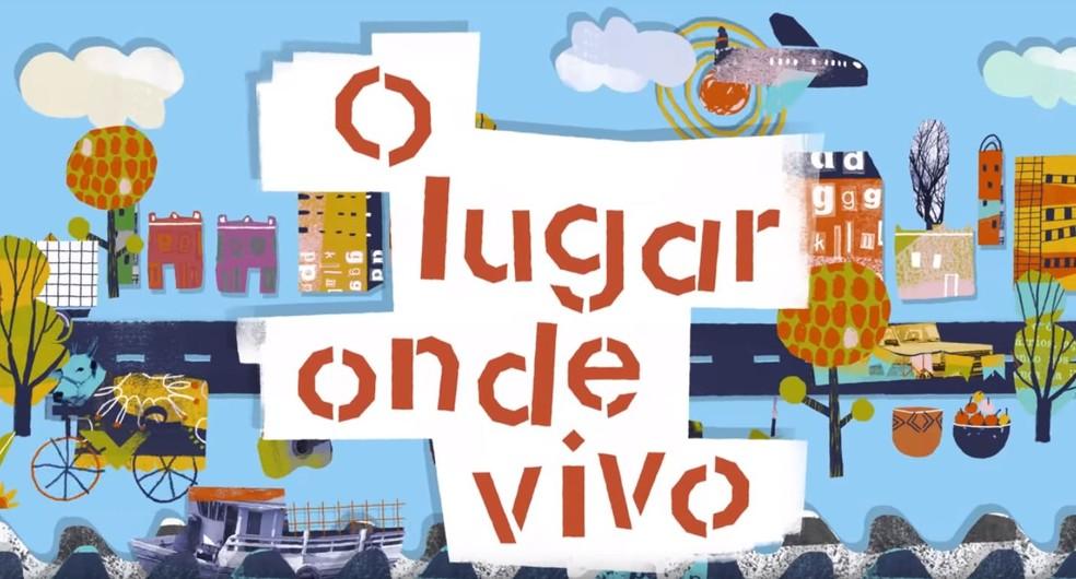 """A 6ª edição da Olimpíada de Língua Portuguesa tem como tema """"O lugar onde vivo"""", um estímulo à reflexão sobre as realidades locais — Foto: Divulgação"""