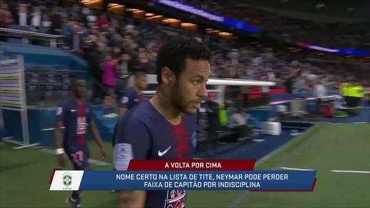 Mesa discute a possibilidade de Neymar ser capitão da Seleção Brasileira pela Copa América