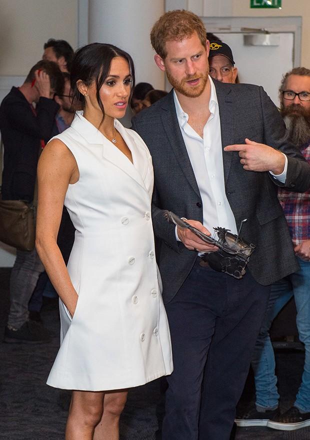 Meghan Markle com o príncipe Harry (Foto: Getty Images)