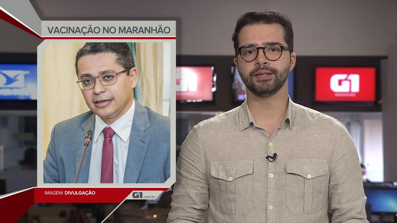 G1 em 1 Minuto: MA reservou R$ 50 milhões para compra de doses da vacina no exterior