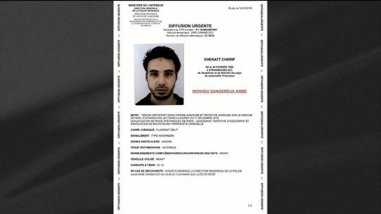 Polícia francesa mata autor de ataque em Estrasburgo