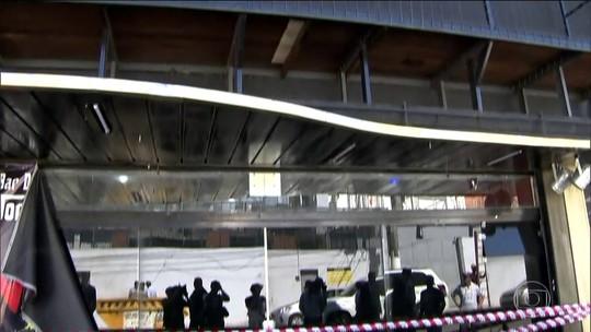 Pericia encontra estrutura enferrujada em mezanino que desabou em Santo André (SP)