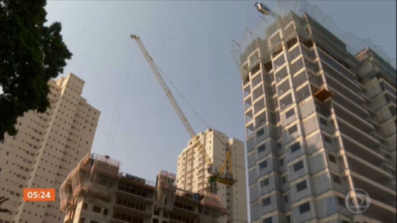 Alvarás para a construção de prédios na capital paulista batem recorde no 3° trimestre
