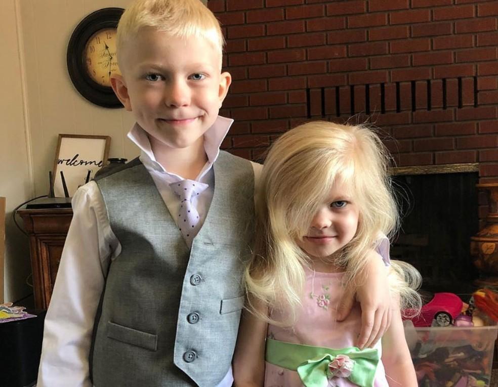 Bridger Walker e a irmã antes do incidente — Foto: Reprodução/Instragram/Lisa Walker