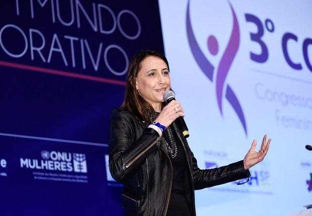 Cristina Palmaka, CEO da SAP Brasil, durante o Conalife 2018 (Foto: Gustavo Morita/Divulgação Conalife)
