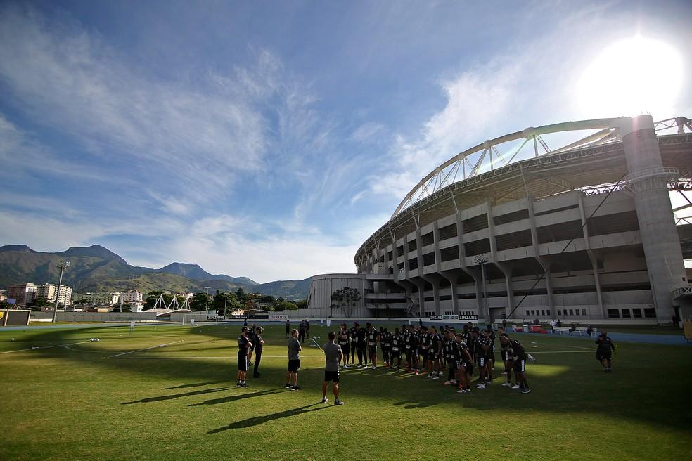 Elenco do Botafogo deve ser enxugado para a próxima temporada — Foto: Vitor Silva/Botafogo