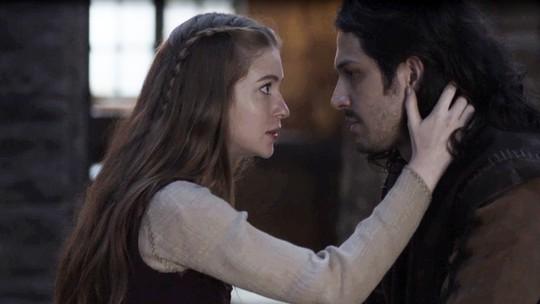 Amália e Afonso pensam no futuro como rei e rainha de Montemor