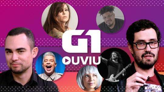 G1 Ouviu: Lulu Santos, Pitty e Dave Grohl comandam semana de rock, mas também tem 'Drake brasileiro'