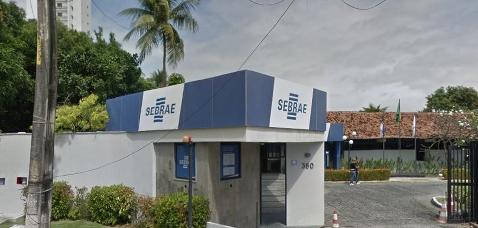 Sede do Sebrae em Pernambuco fica na Zona Oeste do Recife— Foto: Reprodução/Google Street View