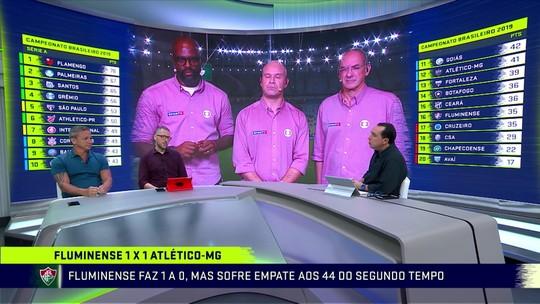 Paulo Nunes elogia atuação do Fluminense em empate com Atlético-MG e compara com Diniz