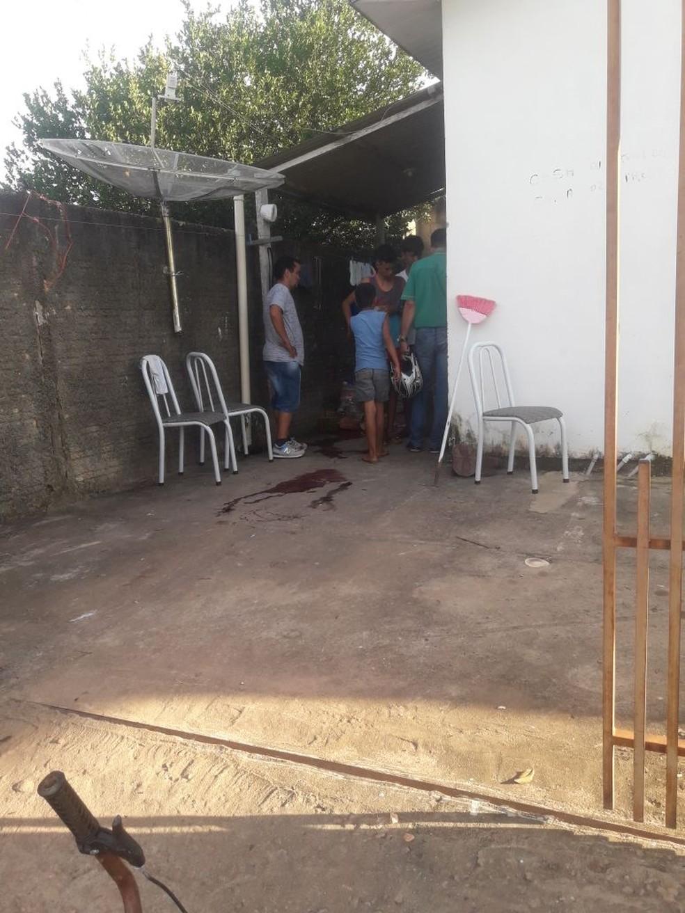Mulher foi assassinada em uma casa na Rua Boa Vista, no Bairro Jardim Vitória, em Guarantã do Norte — Foto: Divulgação