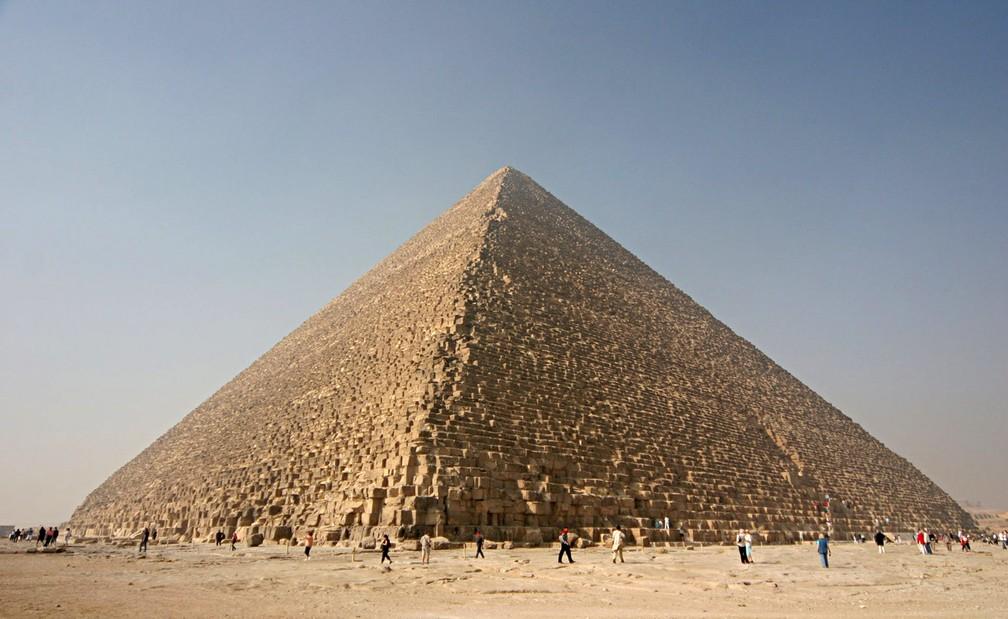 A Grande Pirâmide de Gizé, também conhecida como Pirâmide de Quéops ou Khufu (Foto: Nina Aldin Thune/CC0 Creative Commons)