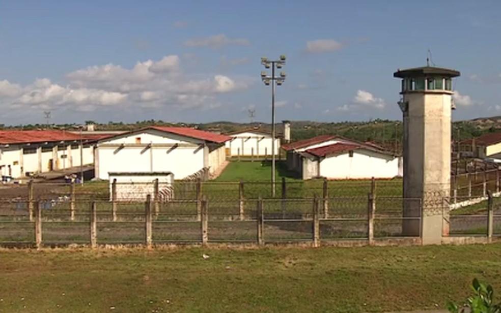 Complexo Penitenciário Manoel Carvalho Neto — Foto: Reprodução/TV Sergipe/Arquivo