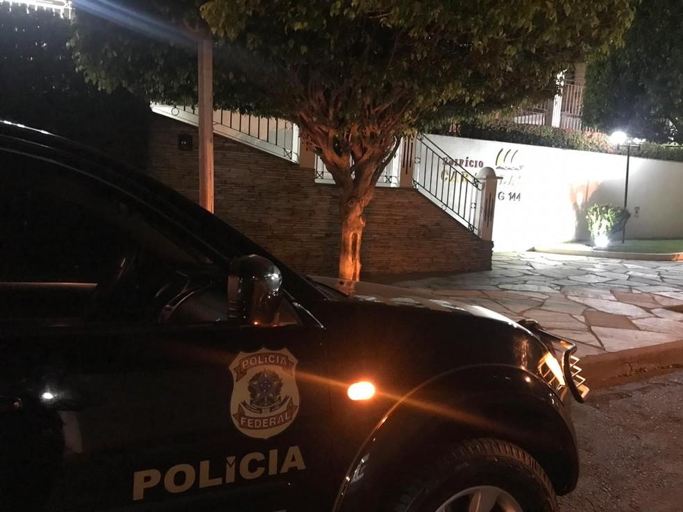 Operação Tapiraguaia — Foto: Polícia Federal de Mato Grosso/Assessoria