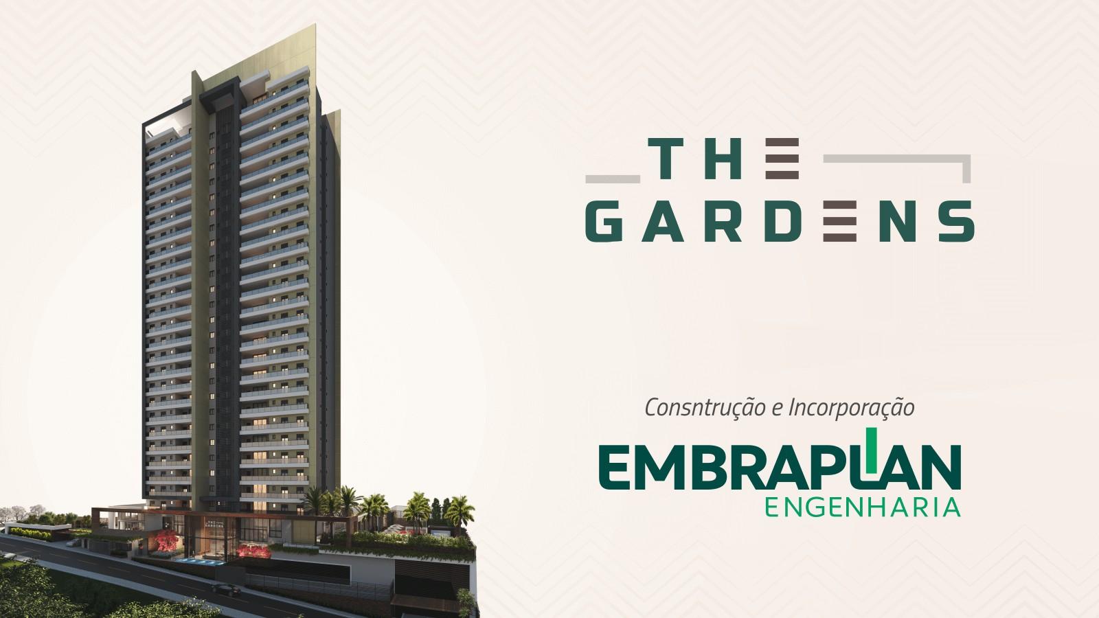 The Gardens é o futuro lançamento  alto padrão da Embraplan